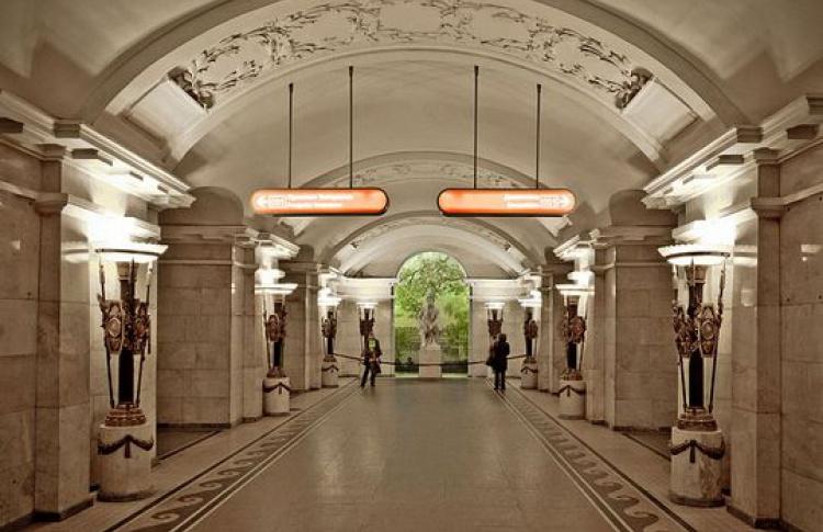 С1июля закрывается вестибюль «Пушкинской»