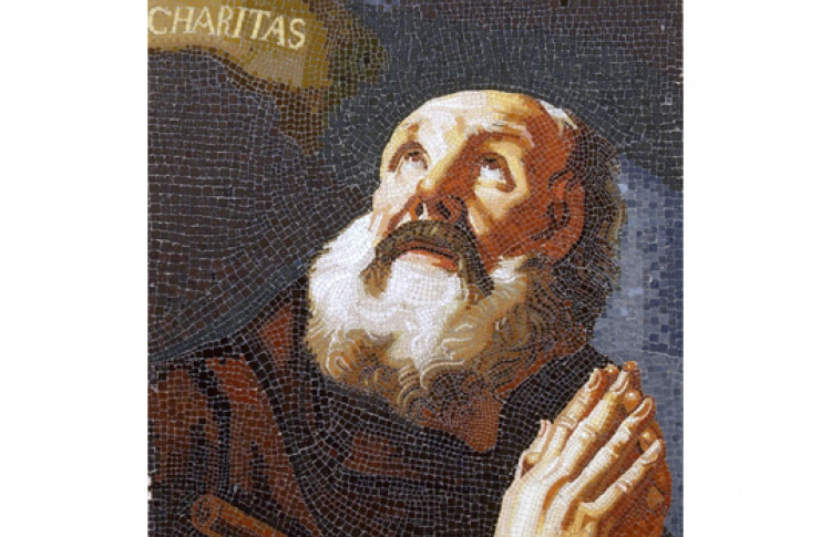 Св. Франциск из Паулы. Дело о мозаичном художестве