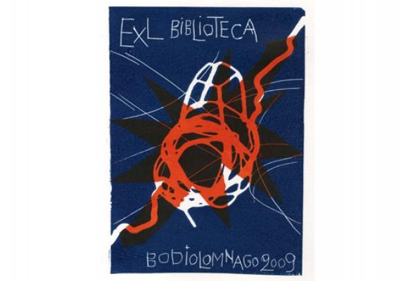 Экслибрисы из коллекции Библиотеки книжной графики - Фото №1