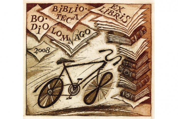 Экслибрисы из коллекции Библиотеки книжной графики