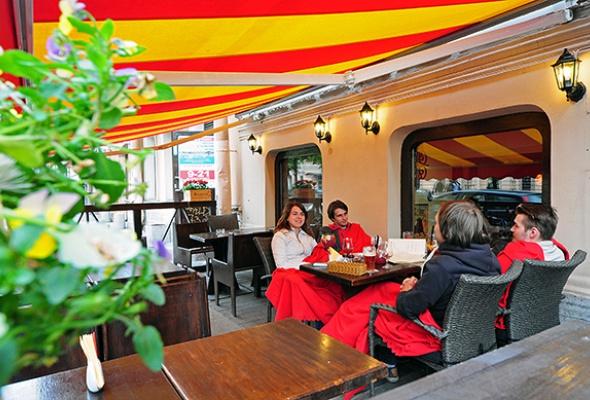 Терраса «Барслона» на Б. Конюшенной - Фото №0