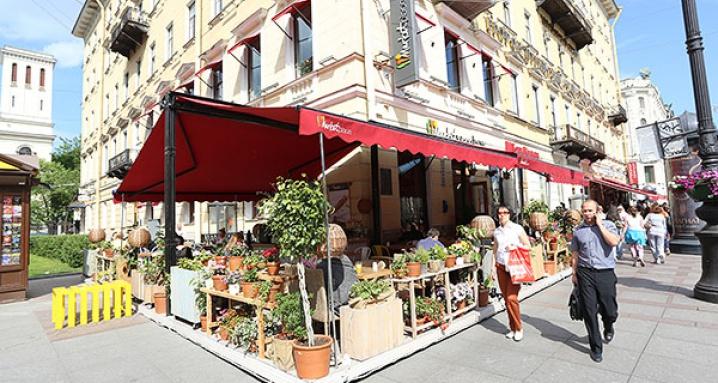 Терраса Marketplace