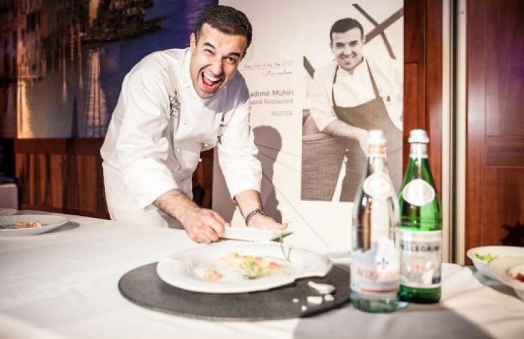 Владимир Мухин стал серебряным призером международного конкурса S.Pellegrino Cooking Cup