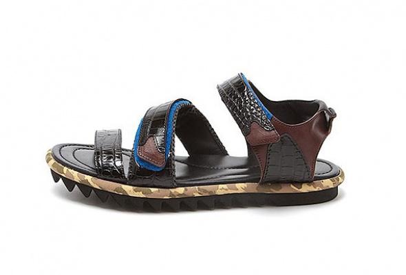 10пар мужских сандалий - Фото №1