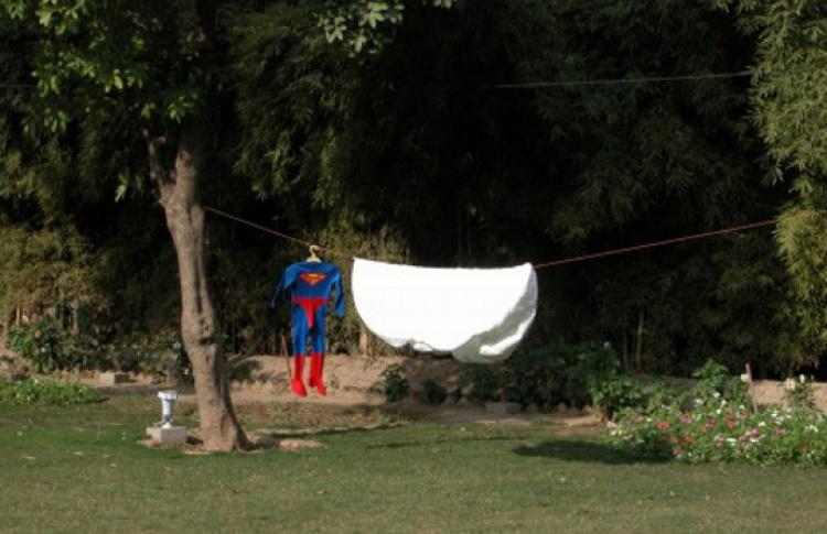 Супермен и одеяло