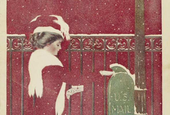 Реклама и обложка американских журналов конца XIX — начала XX века - Фото №0