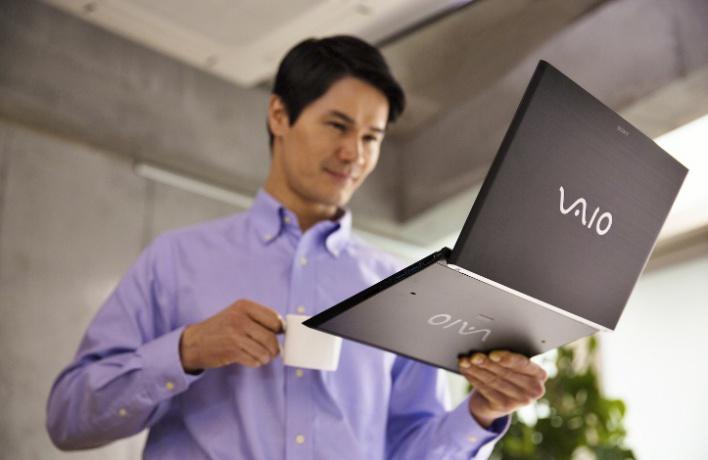 Компания Sony объявляет оначале продаж новых моделей VAIO вРоссии