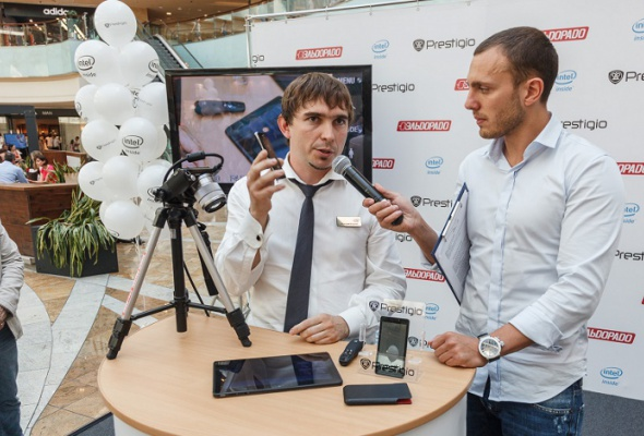Компания Prestigio представила смартфон MULTIPHONE5430 набазе процессора Intel - Фото №1