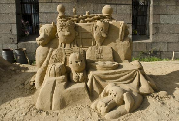 XII Международный фестиваль песчаных скульптур - Фото №10