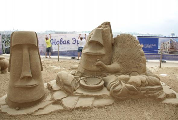 XII Международный фестиваль песчаных скульптур - Фото №12