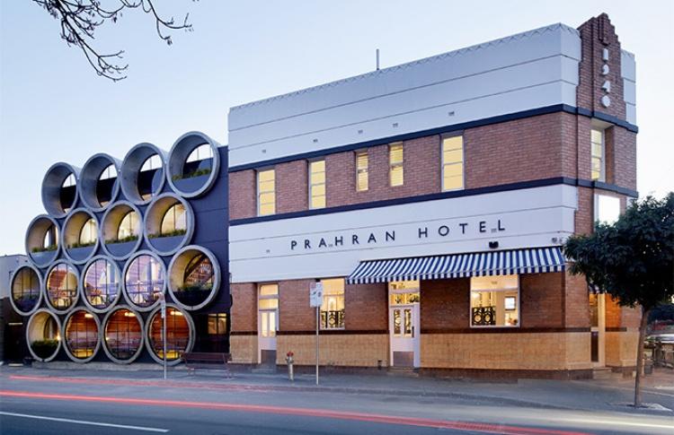 ВАвстралии открыли ресторан, сделанный избетонных труб