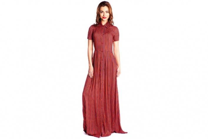 8длинных платьев накаждый день: лучшие модели
