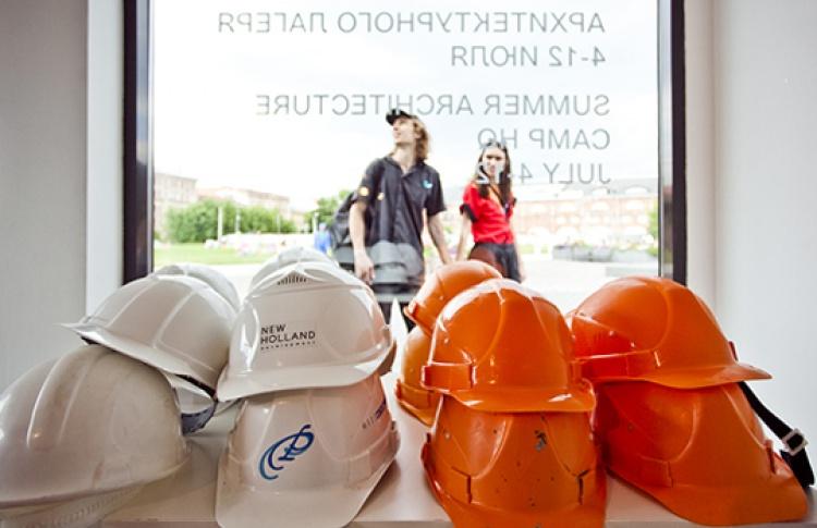 Публичная защита работ студентов Летнего архитектурного лагеря
