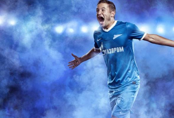 «Зенит» иNike представили новую форму петербургского футбольного клуба - Фото №0