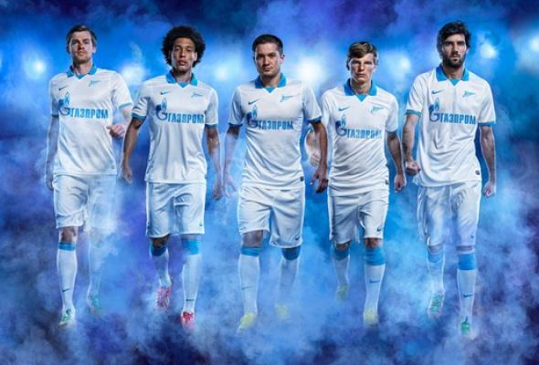 «Зенит» иNike представили новую форму петербургского футбольного клуба - Фото №1