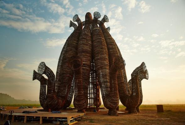 Новая работа Николая Полисского вНиколе-Ленивце - Фото №0