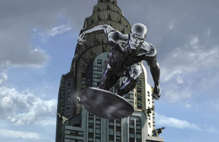 Фантастическая четверка: Вторжение Серебряного Серфера