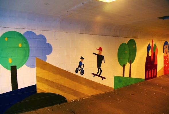 Новые московские граффити: фотогалерея - Фото №1