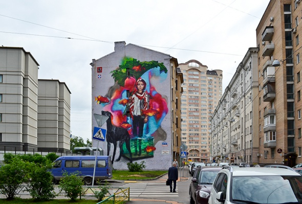 Новые московские граффити: фотогалерея - Фото №8