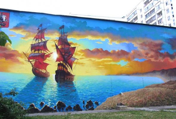 Новые московские граффити: фотогалерея - Фото №0