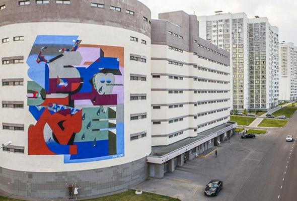 Новые московские граффити: фотогалерея - Фото №7