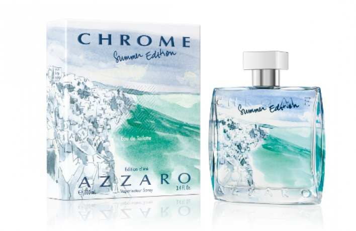 Мужской аромат Azzaro Chrome Summer Edition