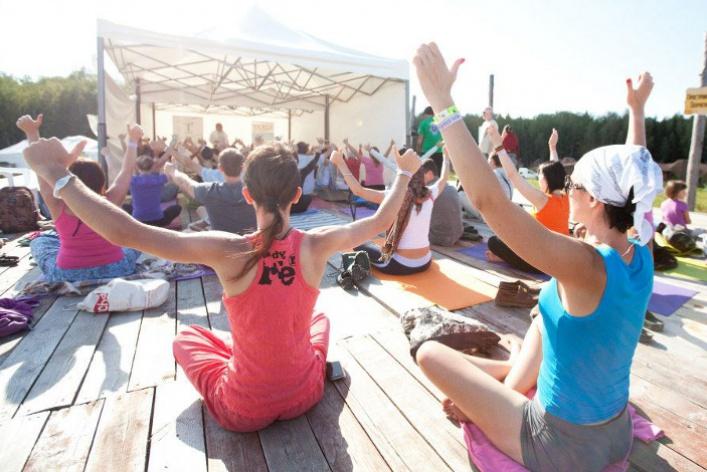С9по11августа вПодмосковье пройдет международный эко-Фестиваль Йоги Free Spirit