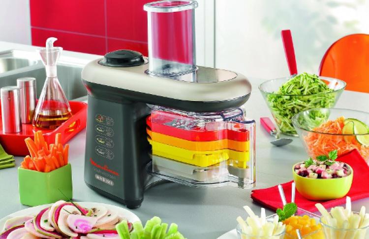 Компания Moulinex представляет новую мультирезку Fresh Express Cube & Stick