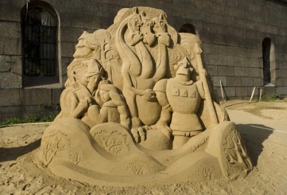 XII Международный фестиваль песчаных скульптур - Фото №9