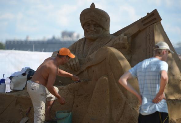 XII Международный фестиваль песчаных скульптур - Фото №2