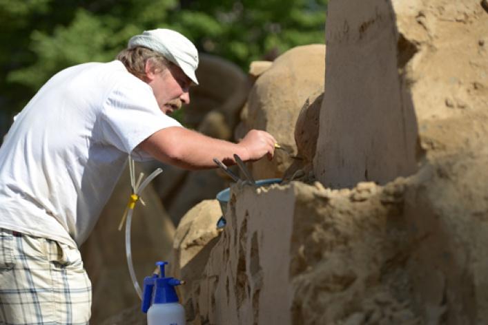 XII Международный фестиваль песчаных скульптур