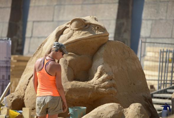 XII Международный фестиваль песчаных скульптур - Фото №0