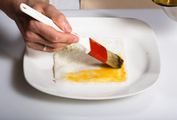 Севиче изчилийского сибаса скровавыми апельсинами имороженым изкаракатицы - Фото №16