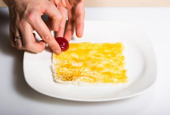 Севиче изчилийского сибаса скровавыми апельсинами имороженым изкаракатицы - Фото №17