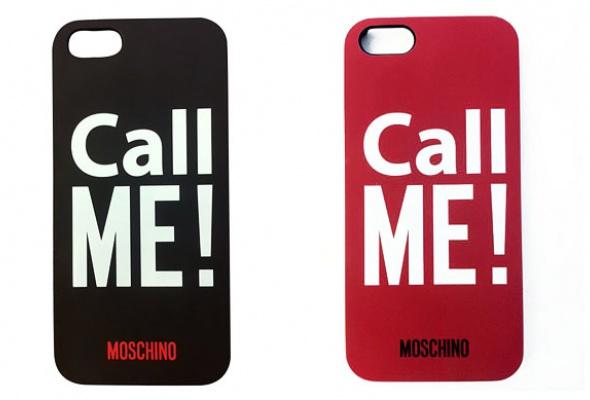 Чехлы для айфонов отMoschino - Фото №1