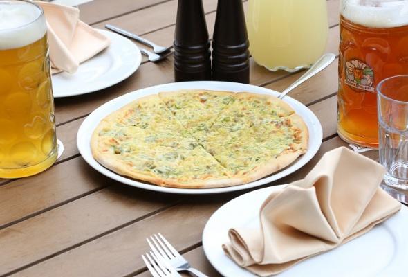 Пицца вресторане «Карл иФридрих» - Фото №3