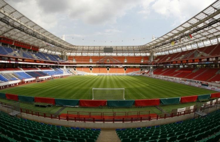 Экскурсия по стадиону «Локомотив»