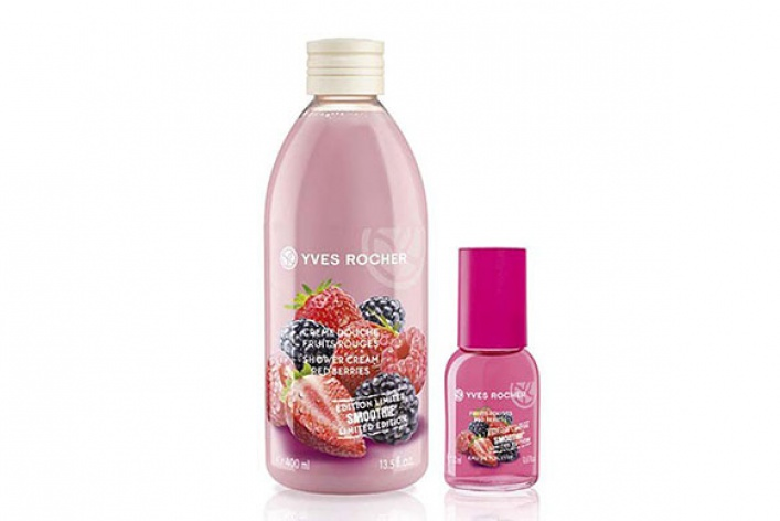 Новая линия Les Plaisirs Nature Smoothie от Yves Rocher