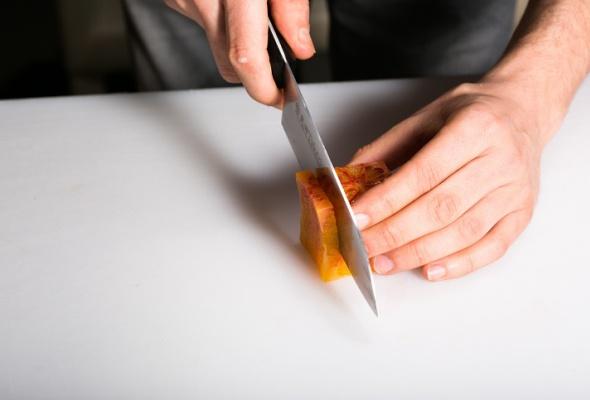 Севиче изчилийского сибаса скровавыми апельсинами имороженым изкаракатицы - Фото №7