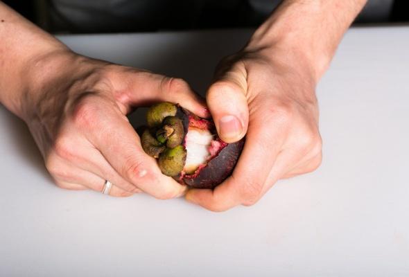 Севиче изчилийского сибаса скровавыми апельсинами имороженым изкаракатицы - Фото №9
