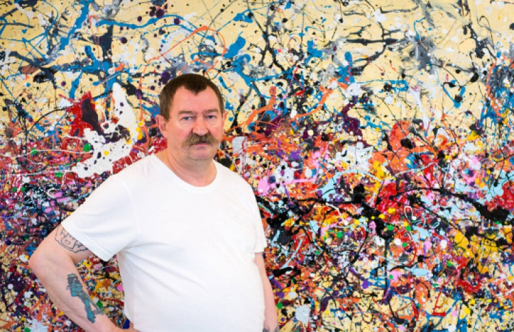 Денис де Глоир «New Jackson Pollock»