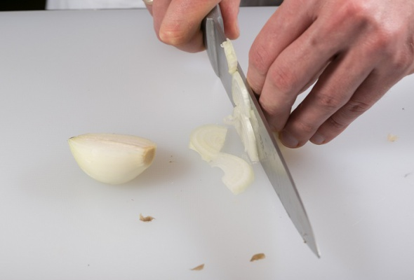 Говяжья вырезка скартофелем, грибами ивареньем изшишек - Фото №3