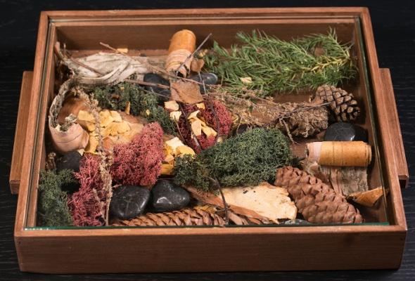 Говяжья вырезка скартофелем, грибами ивареньем изшишек - Фото №15