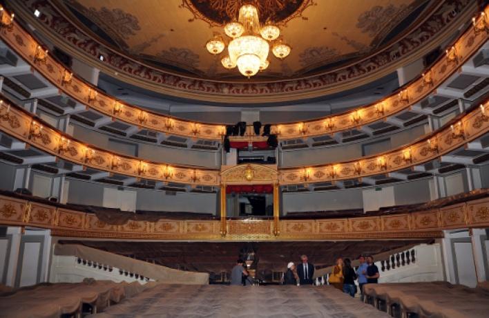 Малый театр отреставрируют к2016 году