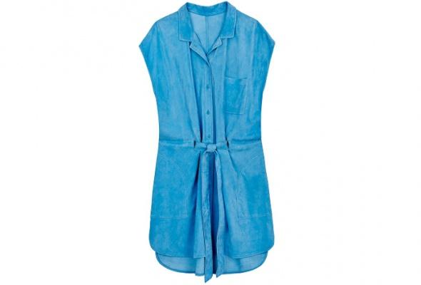 Тренд: летняя одежда изкожи - Фото №20