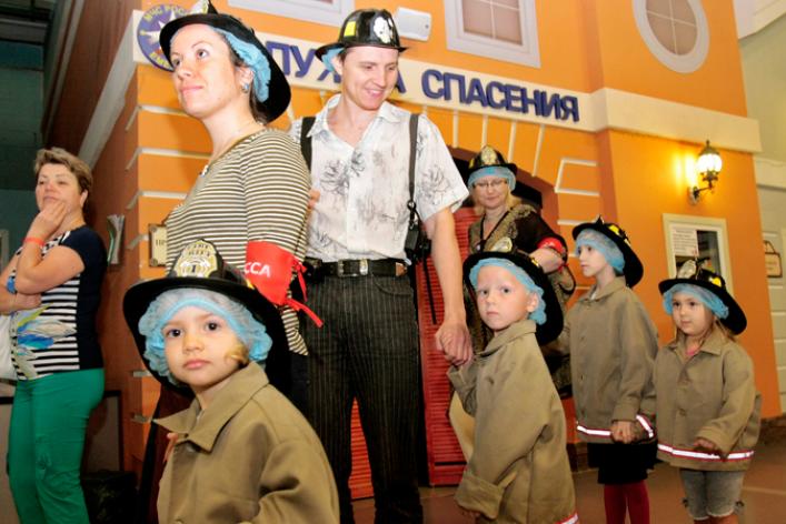 Кидбург изнутри— впервые вгород вошли корреспонденты старше 15лет