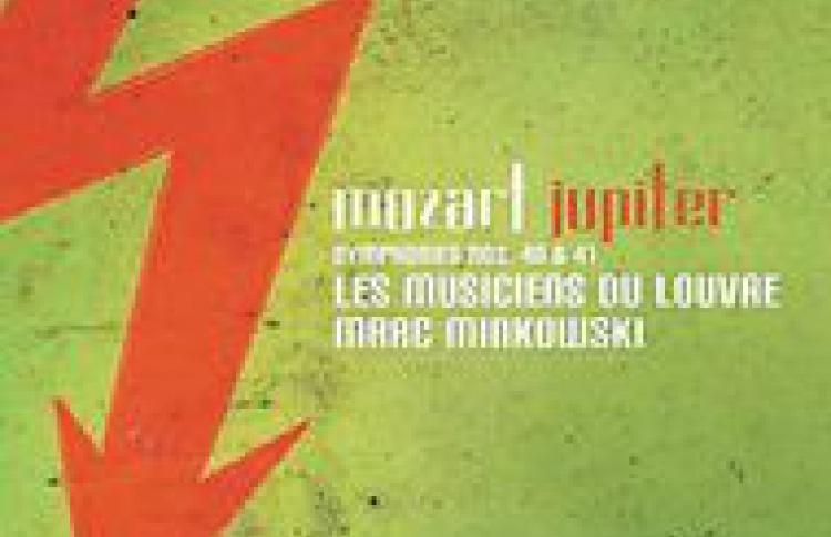 Моцарт. Симфонии №40 & №41