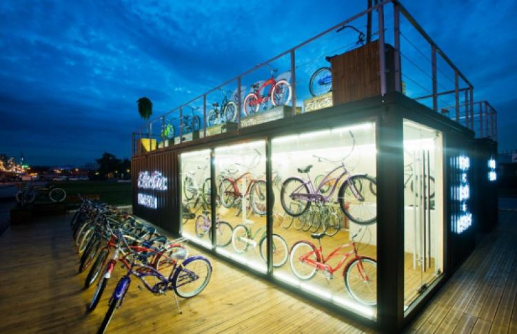 Рядом с«Музеоном» открылся прокат велосипедов Electra