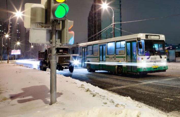 Ссентября вМоскве появится ночной общественный транспорт