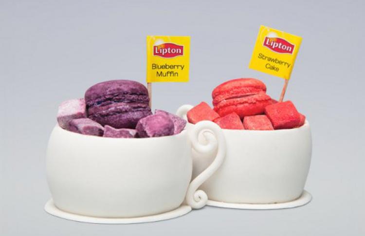 Необычные десерты Lipton